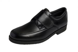 3535 Areli Men's Elastic Shoe with Bunion Pocket Black last