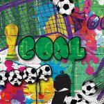 The image of U-SP003-Football-graffiti
