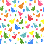 The image of gaiters - butterflies