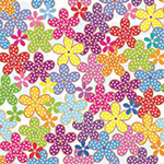 The image of Dotted Flowers - Little Wonders