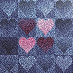 The image of Hearts on Jeans- Little Wonders