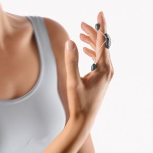 The image shows the MobiDig Extension finger splint