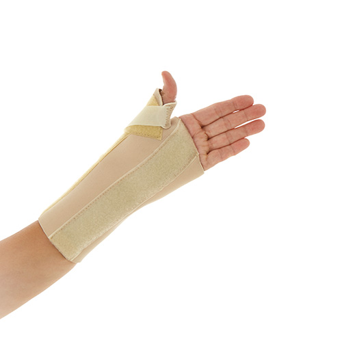 The image shows the Neo Wrist/Thumb Splint