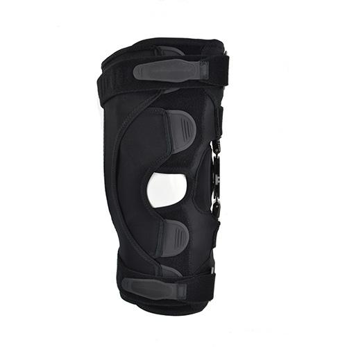 The image shows the PROA+ Wrap knee brace