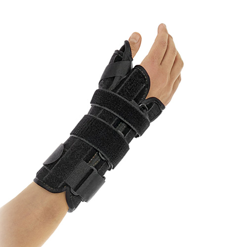 The image shows the Pollex Immo Eco wrist/thumb brace